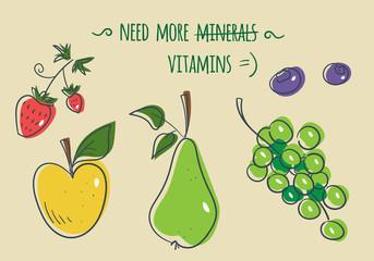 Need more vitamins