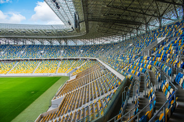 Spoed Fotobehang Stadion stadium