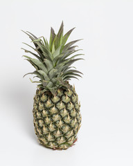 Pineapple isolated with white background