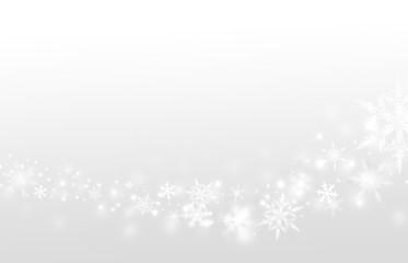 Hintergrund Winter grau Schneeflocken