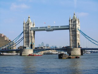 River Thames & Tower Bridge - London - England - UK