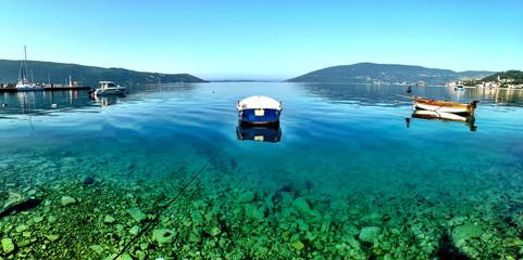 Transparent sea Zelenika Montenegro