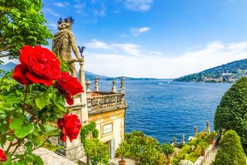 Isola Bella Lago Maggiore Fototapete
