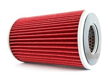Fuel filter for engine car