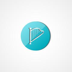 Harp web icon