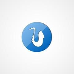 Saxophone web icon
