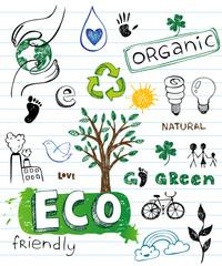 Eco friendly Doodles