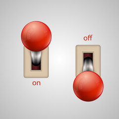 Switch lever
