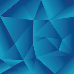 blue abstract triangles background