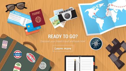 Traveler's desktop