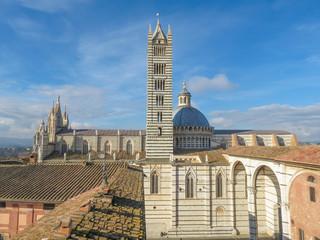 Siena, city centre