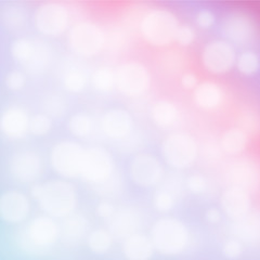 Abstract vector background with bokeh