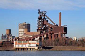 Stahlwerk, Industrieanlage in Deutschland