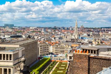 Keuken foto achterwand Brussel Cityscape of Brussels