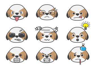 Tsi zhu cartoon emotion07