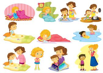 Children and activities