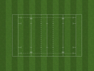 Rugby Pitch Layout