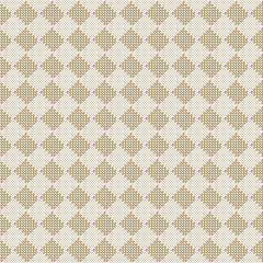 diagonal square beige seamless fabric texture pattern