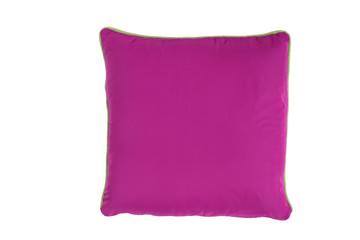 Violettes Kissen isoliert