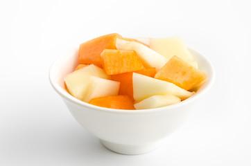 Melonennachspeise