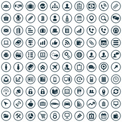 100 company icons