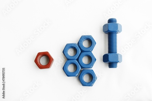 Xylan Coated Bolts 1014