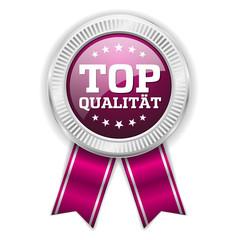 Lila Top Qualität Siegel Mit Silber Rand
