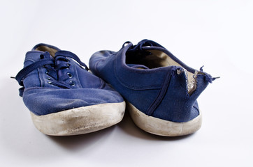 Obraz Old tennis shoes - fototapety do salonu