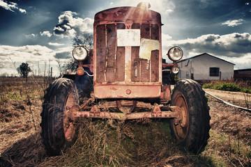 Rusty Vintage Tractor