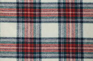 woolen checkered fabric texture