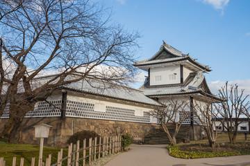 Wall Mural - Kanazawa castle in Kanazawa, Japan.