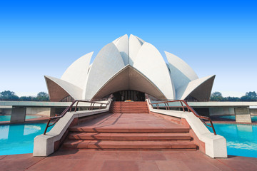 Stores photo Delhi Lotus Temple, India