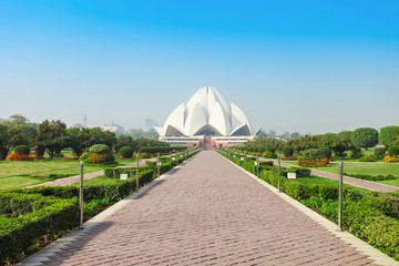 Photo sur Plexiglas Delhi Lotus Temple, India