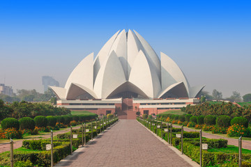 Wall Murals Place of worship Lotus Temple, India