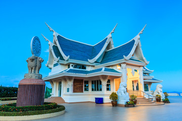 Wat Pa Phukon in Udonthani province of Thailand