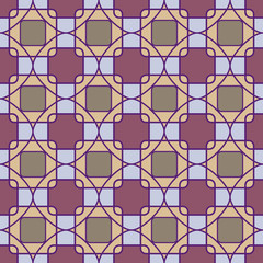 Abstract mosaic geometric pattern
