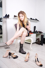 shoes store