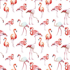 Canvas Prints Flamingo Flamingo pattern