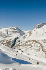 Riederalp, Dorf, Riederfurka, Höhenweg, Alpen, Wallis, Schweiz