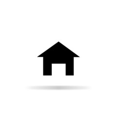 Home icon - vector illustration