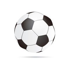 Vector football ball