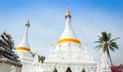 Wat Phra That Doi Kong Mu temple, Mae Hong Son,Thailand