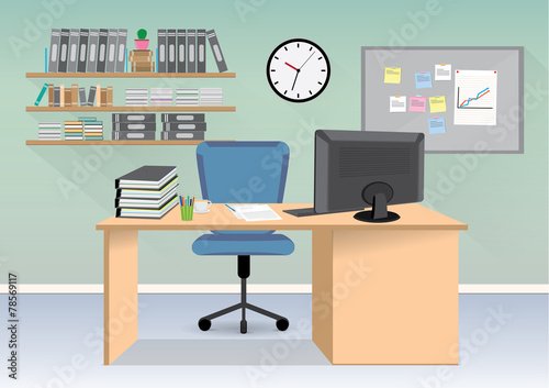 Cartoon office room pictures to pin on pinterest pinsdaddy for Office room pictures
