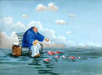 surreal sailor