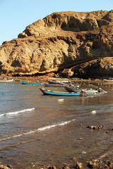 Boats in the Gulf of Aden