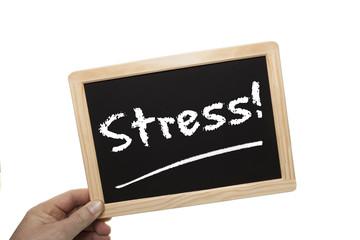 Schild Stress