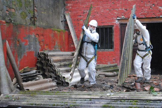 Trabajadores de amianto