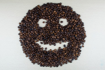 Smile of coffee