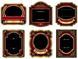 Gold Vintage Labels