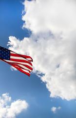 Flattering USA Flag.